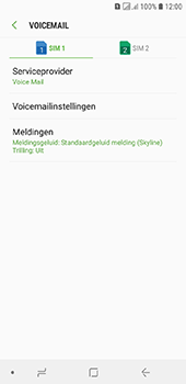 Samsung galaxy-j6-sm-j600fn-ds - Voicemail - Handmatig instellen - Stap 8