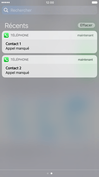 Apple Apple iPhone 6 Plus iOS 10 - iOS features - Personnaliser les notifications - Étape 13