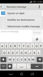 Sony Xpéria E3 - Contact, Appels, SMS/MMS - Envoyer un MMS - Étape 11