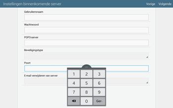 Samsung Galaxy Tab S 10.5 4G (SM-T805) - E-mail - Handmatig instellen - Stap 11