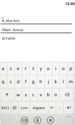 HTC 7 Trophy - E-mail - envoyer un e-mail - Étape 8
