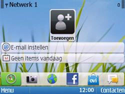 Nokia E5-00 - Bellen - in het buitenland - Stap 11