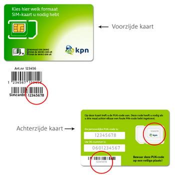 Samsung I9070 Galaxy S Advance - Nieuw KPN Mobiel-abonnement? - In gebruik nemen nieuwe SIM-kaart (bestaande klant) - Stap 4