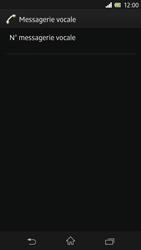Sony C6603 Xperia Z - Messagerie vocale - Configuration manuelle - Étape 7