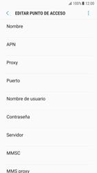 Samsung Galaxy S7 - Android Nougat - Internet - Configurar Internet - Paso 10