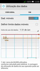 Alcatel Pixi 3 - Internet no telemóvel - Como ativar os dados móveis -  7