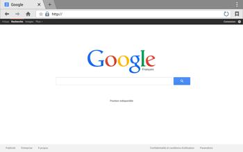 Samsung T805 Galaxy Tab S - Internet - Navigation sur Internet - Étape 5