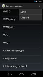 Acer Liquid Z500 - Mms - Manual configuration - Step 15
