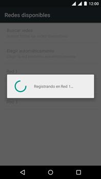 Motorola Moto X Play - Red - Seleccionar una red - Paso 10