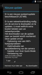 Acer Liquid Jade S - Netwerk - Software updates installeren - Stap 8