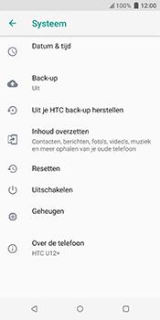 HTC u12-plus - Resetten - Fabrieksinstellingen terugzetten - Stap 5