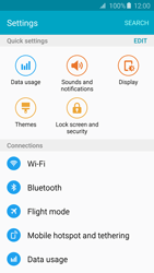 Samsung G925F Galaxy S6 Edge - Internet - Disable mobile data - Step 4