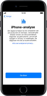 Apple iPhone 6s met iOS 11 (Model A1688) - Instellingen aanpassen - Activeer het toestel en herstel jouw iCloud-data - Stap 27