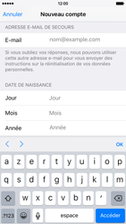 Apple iPhone 6 iOS 9 - Applications - Créer un compte - Étape 14