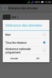 Alcatel Pixi 3 Dual Sim - Aller plus loin - Désactiver les données à l'étranger - Étape 8