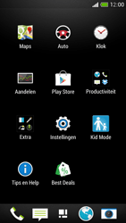 HTC One Mini - Instellingen aanpassen - Fabrieksinstellingen terugzetten - Stap 3