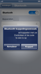 Apple iPhone 5 - Bluetooth - koppelen met ander apparaat - Stap 8
