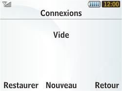 Samsung S3350 Chat 335 - MMS - configuration manuelle - Étape 8
