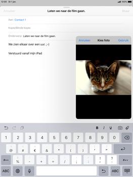 Apple ipad-mini-5-7-9-inch-2019-model-a2124 - E-mail - Bericht met attachment versturen - Stap 11