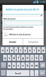 LG Optimus L5 II - Internet et connexion - Partager votre connexion en Wi-Fi - Étape 8
