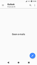 Sony Xperia XZ - Android Oreo - E-mail - e-mail instellen (outlook) - Stap 5