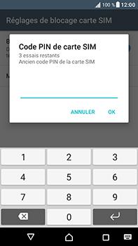 Sony Xperia XA1 Ultra - Sécuriser votre mobile - Personnaliser le code PIN de votre carte SIM - Étape 7