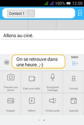 Alcatel Pixi 3 Dual Sim - Contact, Appels, SMS/MMS - Envoyer un MMS - Étape 14