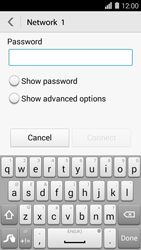 Huawei Ascend Y550 - WiFi and Bluetooth - Manual configuration - Step 6