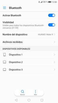 Huawei Mate 9 - Bluetooth - Conectar dispositivos a través de Bluetooth - Paso 5