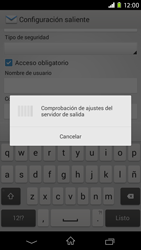 Sony Xperia M2 - E-mail - Configurar correo electrónico - Paso 16