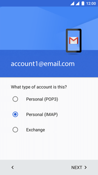 OnePlus 3 - E-mail - Manual configuration IMAP without SMTP verification - Step 13