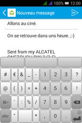 Alcatel Pixi 3 Dual Sim - E-mails - Envoyer un e-mail - Étape 10