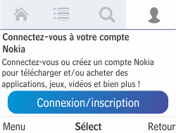 Nokia Asha 210 - Applications - Télécharger des applications - Étape 8