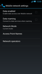 Acer Liquid S2 - Network - Usage across the border - Step 6