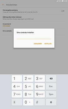 Samsung Galaxy Tab A 10.1 (SM-T585) - SMS - Handmatig instellen - Stap 9