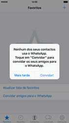 Apple iPhone 5s iOS 8 - Aplicações - Como configurar o WhatsApp -  15