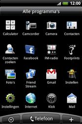 HTC A6363 Legend - MMS - handmatig instellen - Stap 3