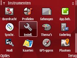 Nokia E63 - Internet - Handmatig instellen - Stap 4