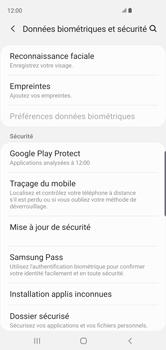 Samsung Galaxy S10 - Appareil - configurer Localiser mon appareil - Étape 5