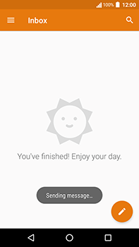 Acer Liquid Zest 4G Plus - E-mail - Sending emails - Step 16