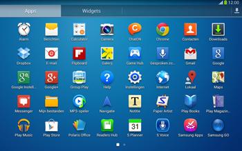 Samsung P5220 Galaxy Tab 3 10-1 LTE - Beveiliging en ouderlijk toezicht - Hoe wijzig ik mijn SIM PIN-code - Stap 3
