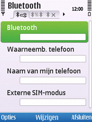 Nokia C5-00 - Bluetooth - koppelen met ander apparaat - Stap 8