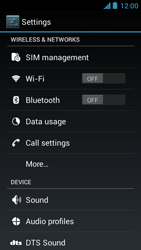 Acer Liquid Z5 - WiFi and Bluetooth - Manual configuration - Step 4