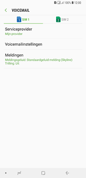 Samsung galaxy-a6-plus-sm-a605fn-ds - Voicemail - Handmatig instellen - Stap 8