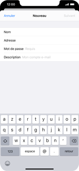 Apple iPhone XR - iOS 13 - E-mail - Configuration manuelle - Étape 8