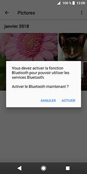 Sony Xperia XZ2 - Photos, vidéos, musique - Envoyer une photo via Bluetooth - Étape 13