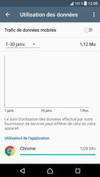 Sony Xperia XZ (F8331) - Internet et connexion - Désactiver la connexion Internet - Étape 7