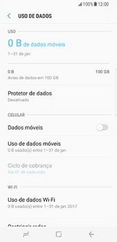 Samsung Galaxy S8 - Internet no telemóvel - Como ativar os dados móveis -  6