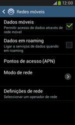 Samsung Galaxy Grand Neo - Internet no telemóvel - Como configurar ligação à internet -  7