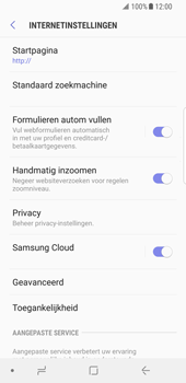 Samsung Galaxy S8 - Android Oreo - Internet - buitenland - Stap 26